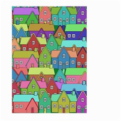 House 001 Large Garden Flag (two Sides)