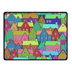 House 001 Double Sided Fleece Blanket (Small)