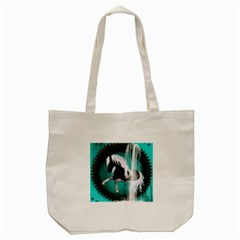 Beautiful Horse With Water Splash  Tote Bag (Cream)