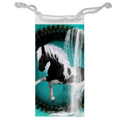 Beautiful Horse With Water Splash  Jewelry Bags