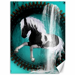 Beautiful Horse With Water Splash  Canvas 36  X 48
