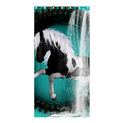 Beautiful Horse With Water Splash  Shower Curtain 36  X 72  (stall)