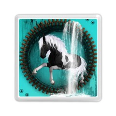 Beautiful Horse With Water Splash  Memory Card Reader (Square)