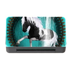 Beautiful Horse With Water Splash  Memory Card Reader with CF