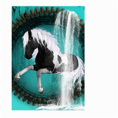 Beautiful Horse With Water Splash  Large Garden Flag (two Sides)