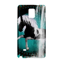 Beautiful Horse With Water Splash  Samsung Galaxy Note 4 Hardshell Case