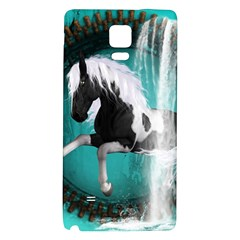Beautiful Horse With Water Splash  Galaxy Note 4 Back Case