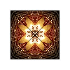Elegant, Decorative Kaleidoskop In Gold And Red Acrylic Tangram Puzzle (4  X 4 )