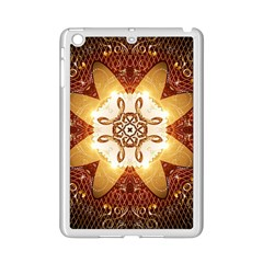 Elegant, Decorative Kaleidoskop In Gold And Red Ipad Mini 2 Enamel Coated Cases