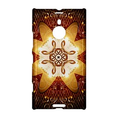 Elegant, Decorative Kaleidoskop In Gold And Red Nokia Lumia 1520