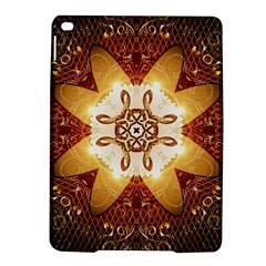 Elegant, Decorative Kaleidoskop In Gold And Red Ipad Air 2 Hardshell Cases