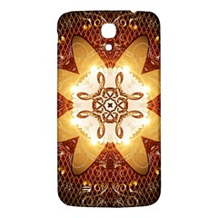 Elegant, Decorative Kaleidoskop In Gold And Red Samsung Galaxy Mega I9200 Hardshell Back Case