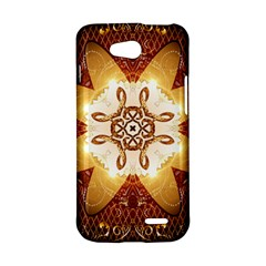 Elegant, Decorative Kaleidoskop In Gold And Red LG L90 D410