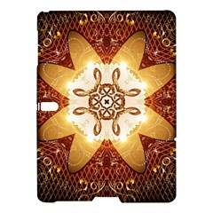 Elegant, Decorative Kaleidoskop In Gold And Red Samsung Galaxy Tab S (10.5 ) Hardshell Case