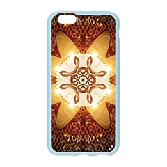 Elegant, Decorative Kaleidoskop In Gold And Red Apple Seamless iPhone 6 Case (Color)