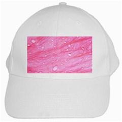 Pink White Cap