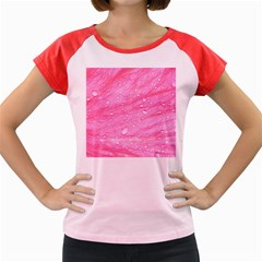Pink Women s Cap Sleeve T Shirt