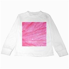 Pink Kids Long Sleeve T Shirts