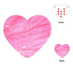 Pink Playing Cards (heart)
