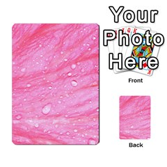 Pink Multi-purpose Cards (Rectangle)