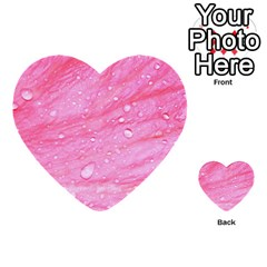 Pink Multi-purpose Cards (Heart)