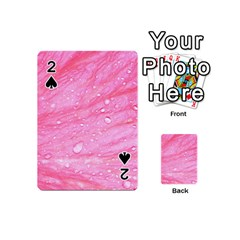 Pink Playing Cards 54 (mini)