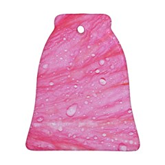 Pink Bell Ornament (2 Sides)