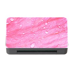 Pink Memory Card Reader with CF