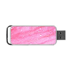 Pink Portable USB Flash (One Side)