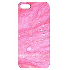 Pink Apple Iphone 5 Hardshell Case With Stand