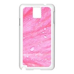 Pink Samsung Galaxy Note 3 N9005 Case (white)