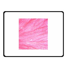 Pink Double Sided Fleece Blanket (Small)