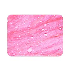 Pink Double Sided Flano Blanket (Mini)