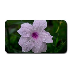 Pink Purple Flowers Medium Bar Mats