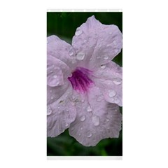 Pink Purple Flowers Shower Curtain 36  X 72  (stall)