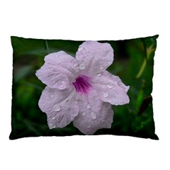 Pink Purple Flowers Pillow Cases (two Sides)