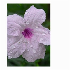 Pink Purple Flowers Small Garden Flag (two Sides)