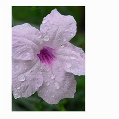 Pink Purple Flowers Large Garden Flag (two Sides)