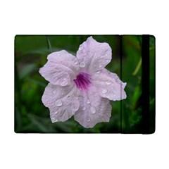 Pink Purple Flowers Ipad Mini 2 Flip Cases