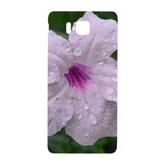 Pink Purple Flowers Samsung Galaxy Alpha Hardshell Back Case