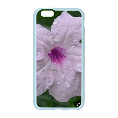 Pink Purple Flowers Apple Seamless iPhone 6 Case (Color)