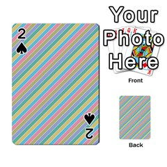 Stripes 2015 0401 Playing Cards 54 Designs