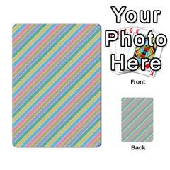 Stripes 2015 0401 Multi-purpose Cards (Rectangle)
