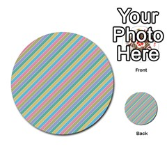Stripes 2015 0401 Multi Purpose Cards (round)