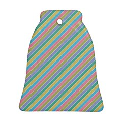Stripes 2015 0401 Bell Ornament (2 Sides)