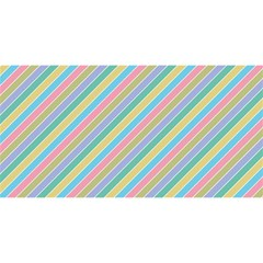 Stripes 2015 0401 YOU ARE INVITED 3D Greeting Card (8x4)