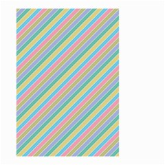 Stripes 2015 0401 Small Garden Flag (two Sides)