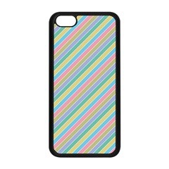 Stripes 2015 0401 Apple Iphone 5c Seamless Case (black)