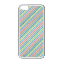 Stripes 2015 0401 Apple Iphone 5c Seamless Case (white)
