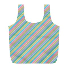 Stripes 2015 0401 Full Print Recycle Bags (l)
